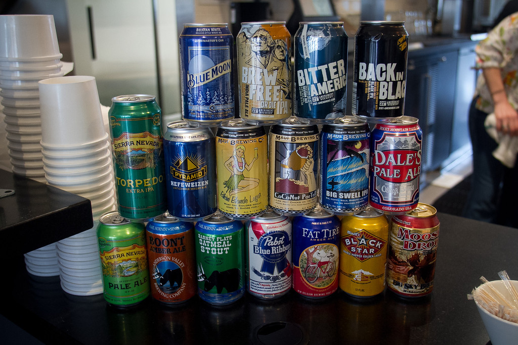Drinks that are offered at Roostertail Restaurant in San Francisco Calif., on Thursday, March 1st, 2012.