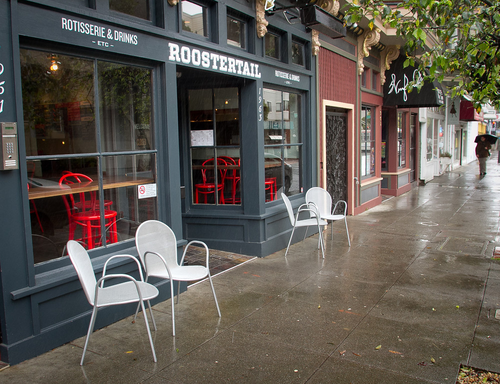 The exterior of Roostertail Restaurant in San Francisco Calif., is seen on Thursday, March 1st, 2012.