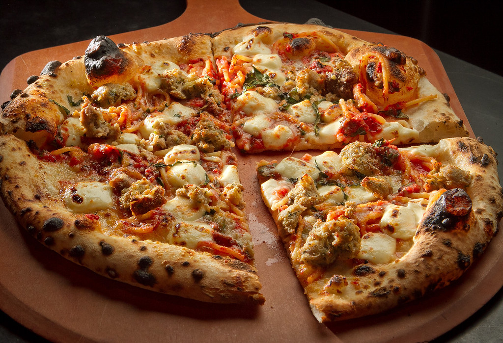 "The ""Goomba"" Pizza at Rosso Pizzeria in Santa Rosa, Calif., is seen on Saturday, February 18th, 2012."