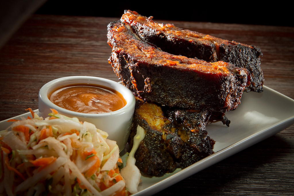 The Baby Back Ribs at Rumbo al Sur Restaurant in Oakland, Calif., is seen on Thursday, January 26th, 2012.