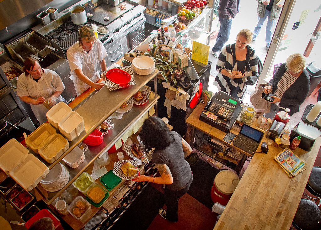 The interior of Scolari's Good Eats in Alameda, Calif., is seen on Friday, June 29th, 2012.