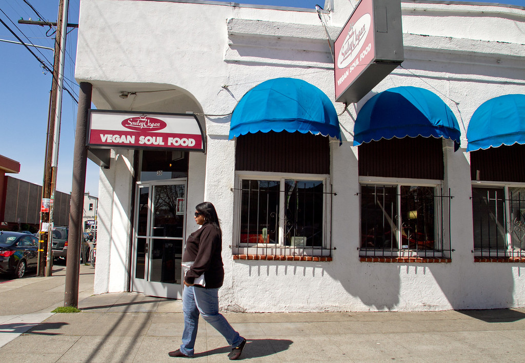 The exterior of Souley Restaurant in Oakland, Calif. on March 23rd, 2012.