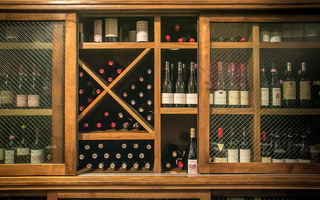 The wine storage at St. Vincent restaurant in San Francisco, Calif., is seen on Friday, December 7th, 2012.