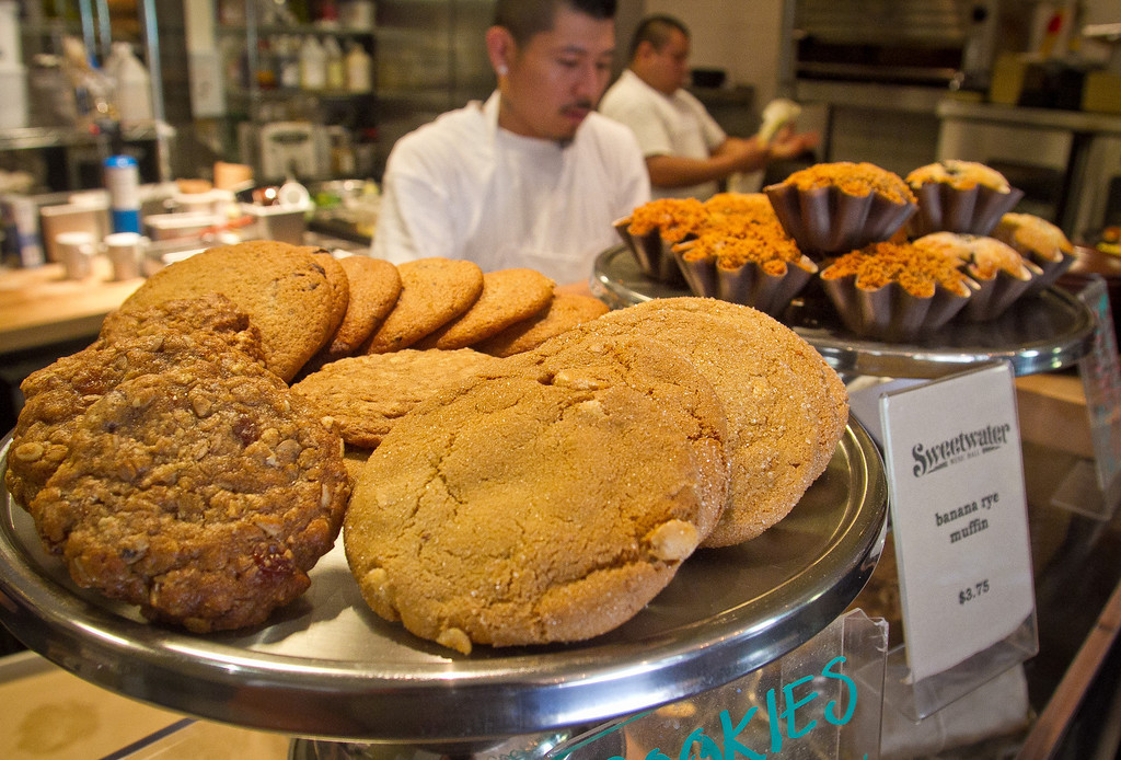 Cookies at the Sweetwater Cafe in Mill Valley, Calif., are seen on Saturday, June 30th, 2012.