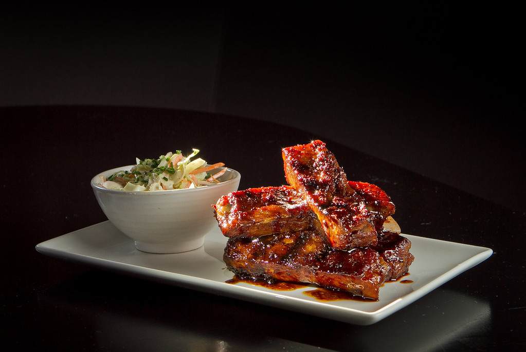 The Balsamic Glazed Pork Ribs at Terrapin Crossroads in San Rafael, Calif., are seen on Sunday, August 19th, 2012.