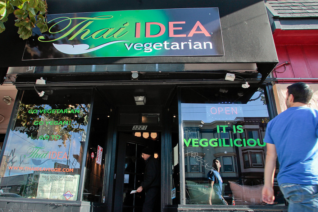 The exterior of Thai Idea in San Francisco, Calif., is seen on Saturday, November 10th, 2012.