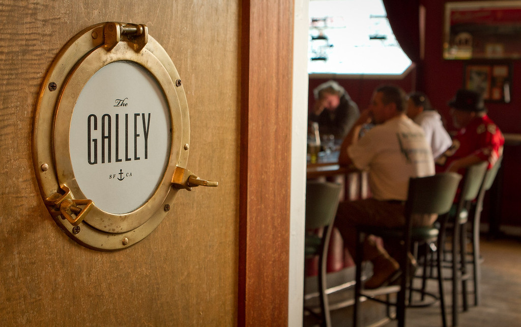 The Galley inside of Clooney's Bar in San Francisco, Calif., is seen on Tuesday,  August 30th, 2012.