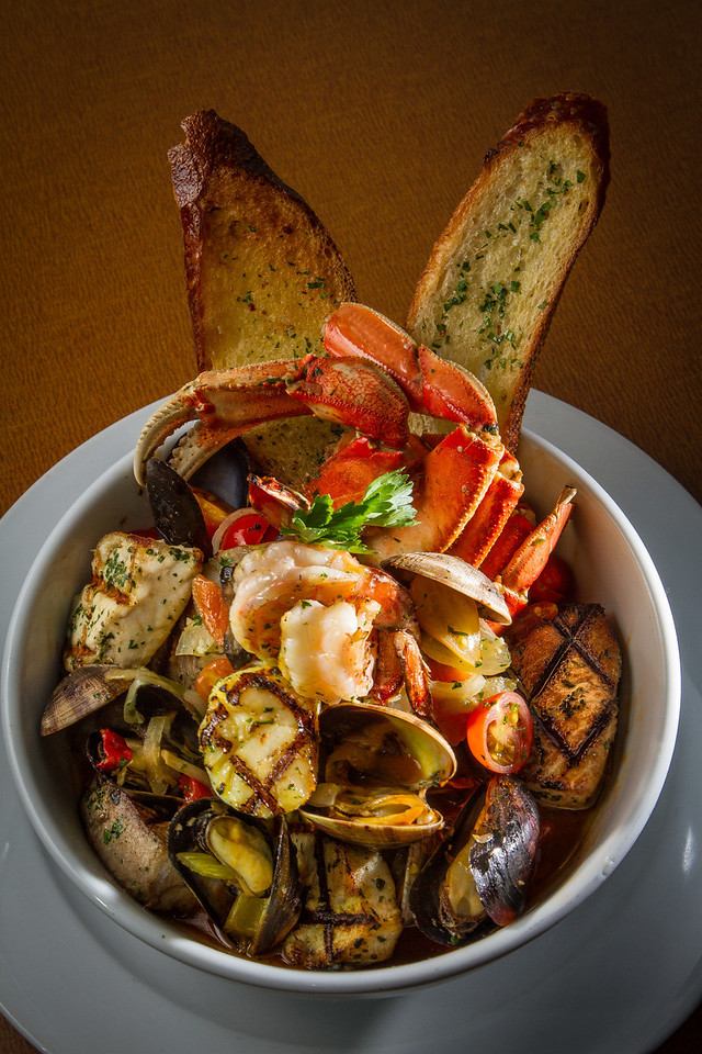 The Cioppino at the Trident restaurant in Sausalito, Calif. is seen on Saturday, December 15th, 2012.