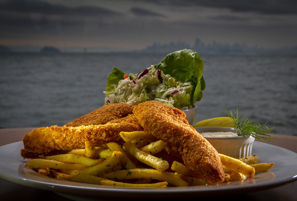 The Fish and Chips at the Trident restaurant in Sausalito, Calif. is seen on Saturday, December 15th, 2012.