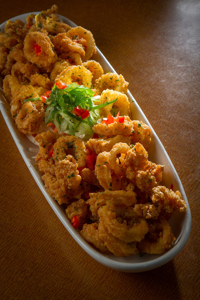 The fried Calamari at the Trident restaurant in Sausalito, Calif. is seen on Saturday, December 15th, 2012.