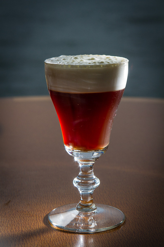 The Buena Vista Irish Coffee at the Trident restaurant in Sausalito, Calif. is seen on Saturday, December 15th, 2012.