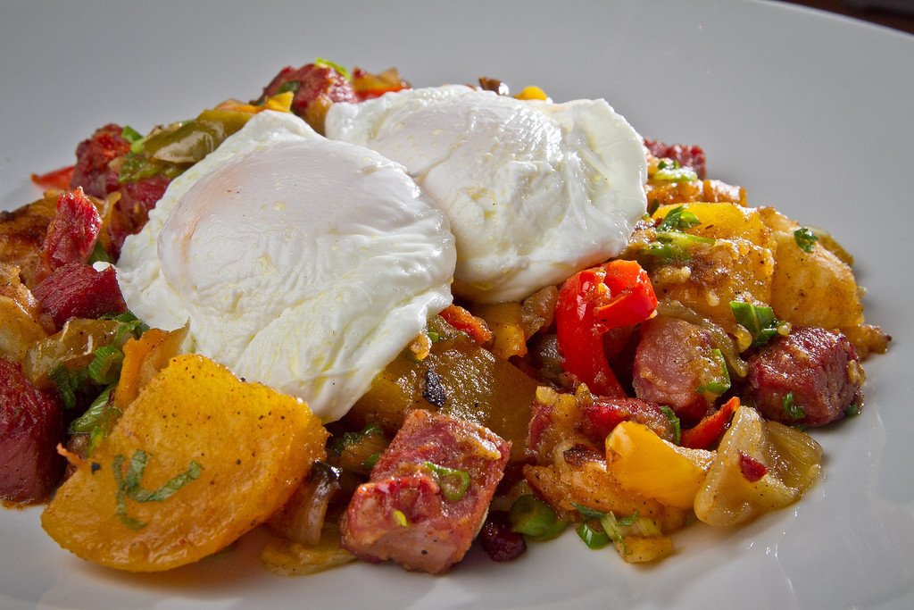 The Red Flannel Hash at the Three Squares Cafe in Santa Rosa, Calif., is seen on Friday, October 26th, 2012.