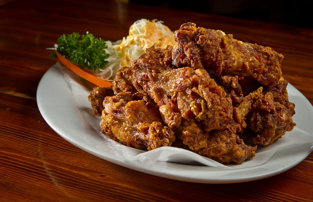 The Chicken Wings at Toyose restaurant in San Francisco, Calif., is seen on Wednesday, July 17th, 2012.