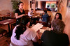 A waitress takes orders in the dining room at the Bangkok restaurant in Pleasant Hill, Calif., on Thursday, Sept. 23, 2010.