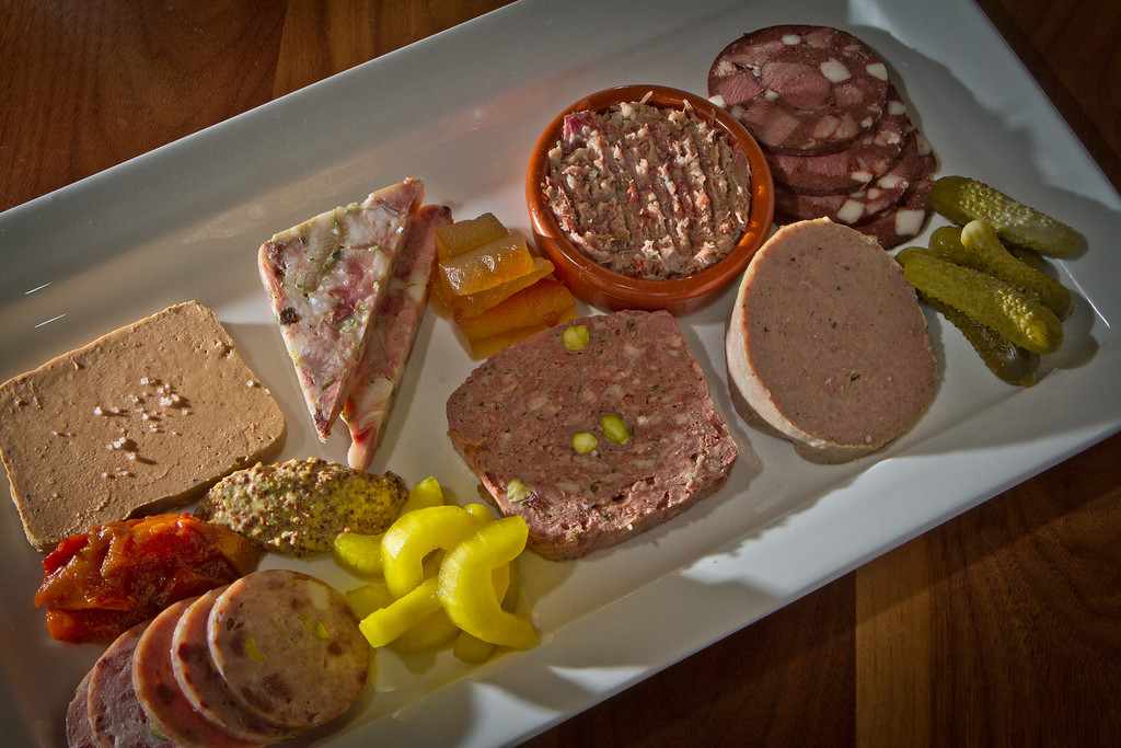 The Charcuterie Plate at Bluestem Restaurant in San Francisco, Calif., is seen on August 9th, 2011.