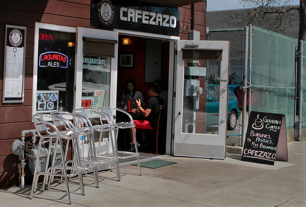 The exterior of Cafe Zazo in San Francisco, Calif. is seen on Friday, April 1st,  2011.