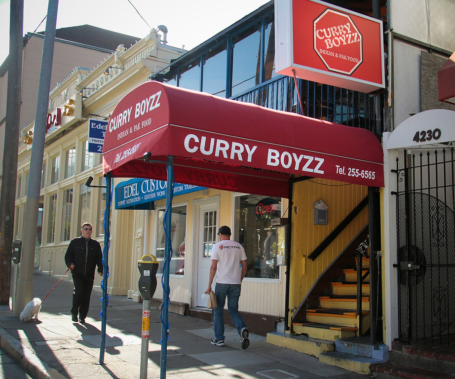 The exterior of Curry Boyzz Restaurant In San Francisco, Calif.,  is seen on June 29th, 2011.