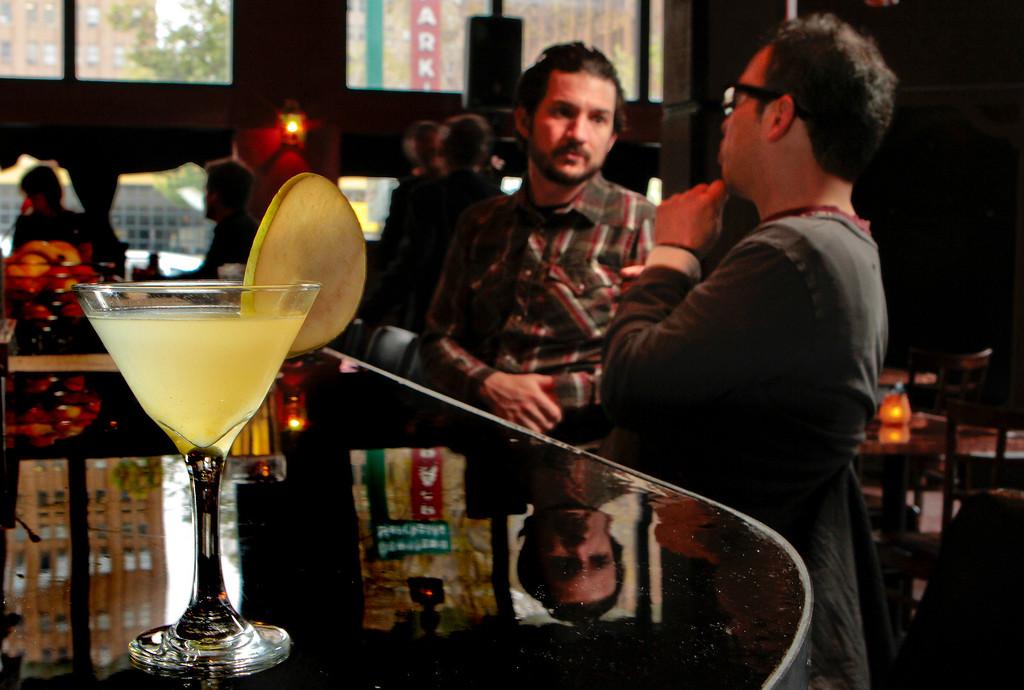 The Pear Martini at Disco Volante restaurant in Oakland, Calif. is seen on Saturday, March 26th  2011.