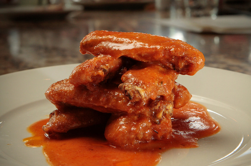 The spicy Chicken Wings at the Farmstead restaurant in St. Helena, Calif., is seen on Saturday, May 28th, 2011.