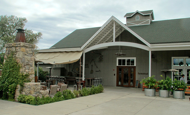The exterior of the Farmstead restaurant in St. Helena, Calif., is seen on Saturday, May 28th, 2011.