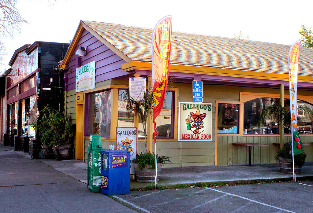 The exterior of Gallegos Restaurant in Berkeley, Calif.,  is seen on Thursday, January 20,  2011.
