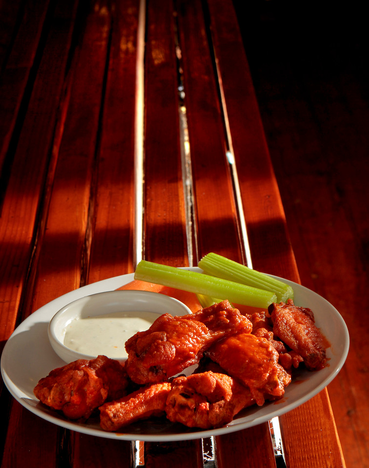 The Buffalo Wings at Greenburger's Restaurant in San Francisco, Calif. is seen on Sunday, April 10th,  2011.
