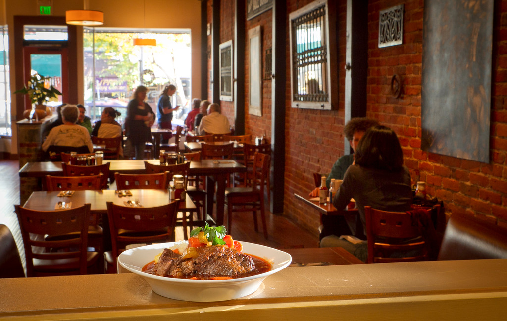 The Pot Roast at the Gypsy Cafe in Sebastopol, Calif.,  is seen on Thursday, December 1st,  2011.