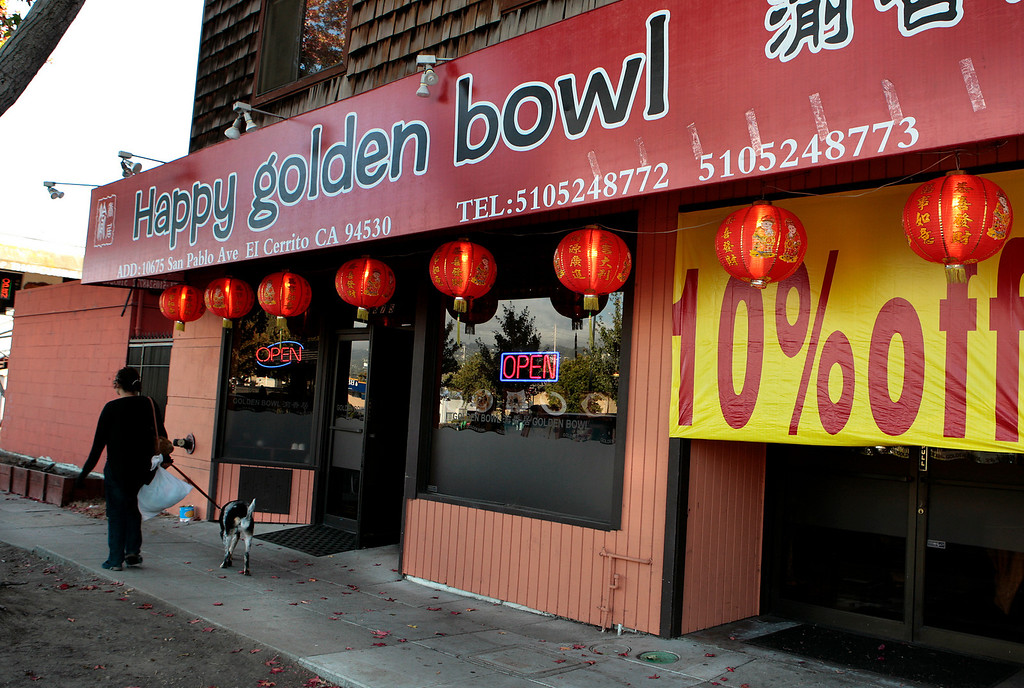 Happy Golden Bowl restaurant in El Cerrito on Saturday,  August 28, 2010.