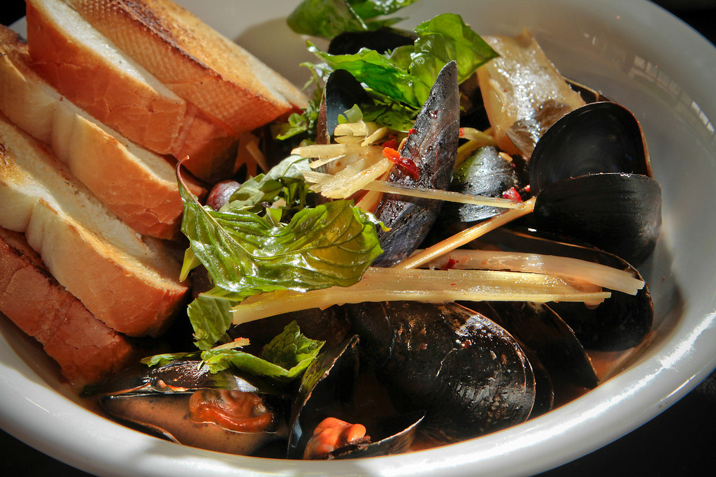 The Mussels at Hawker Fare restaurant in Oakland, Calif., is seen on July11th, 2011.