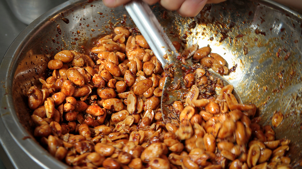 The Siamese Peanuts at Hawker Fare restaurant in Oakland, Calif., is seen on July11th, 2011.