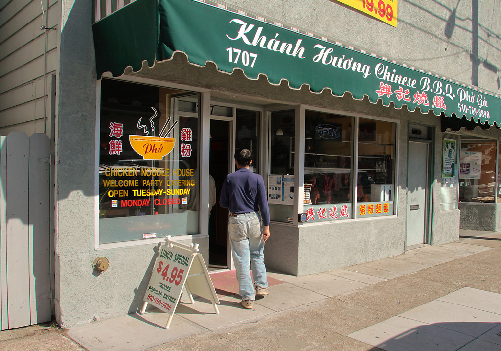 The exterior of Khanh Huong Chinese BBQ  restaurant in Alameda, Calif.,  is seen on Saturday February 12th,  2011.