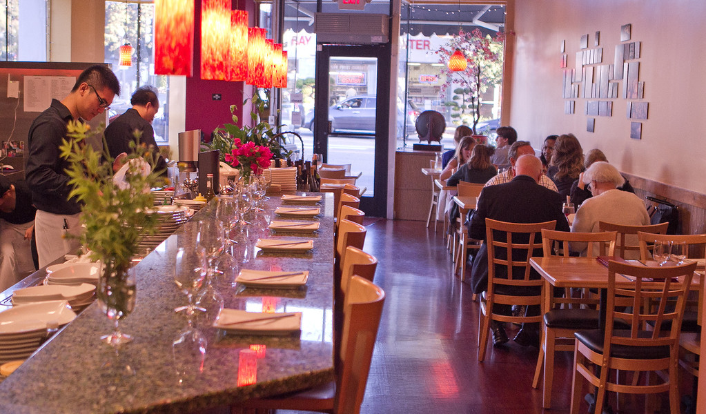 The interior of Lin Jia Restaurant in Oakland, Calif., is seen on Friday,  September 30th, 2011.