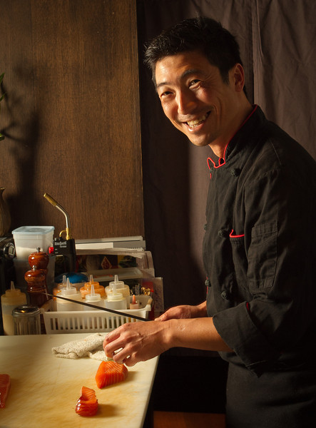 Chef Kuo Hwa Chuang at Seiya Restaurant in San Carlos, Calif., is seen on September 22, 2011.