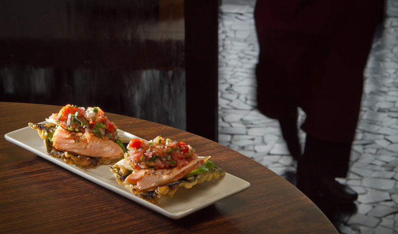 Fish Tacos at Seiya Restaurant in San Carlos, Calif., is seen on September 22, 2011.