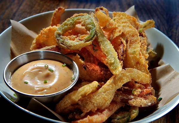 The Fritto Misto at Starbelly Restaurant in San Francisco, Calif.,  is seen on Monday, January 17,  2011.