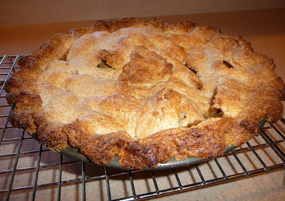 "Gluten Free Apple Pie This crust is so outrageously delicious that I've made it my standard crust.   WAAAAAY more flavorful than ""regular"" pie crusts, and easier to work with too!!  Recipe here."