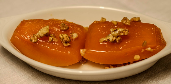 Turkish Style Pumpkin Pudding