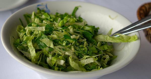 Turkish Green Salad