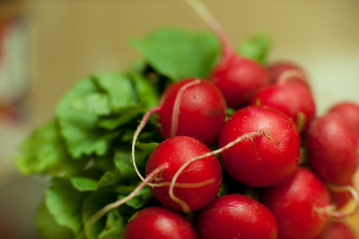 Fresh Radish Anyone ?