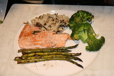 Mike's Salmon Dinner