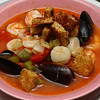 Cioppino with Garlic Rubbed Coutons.