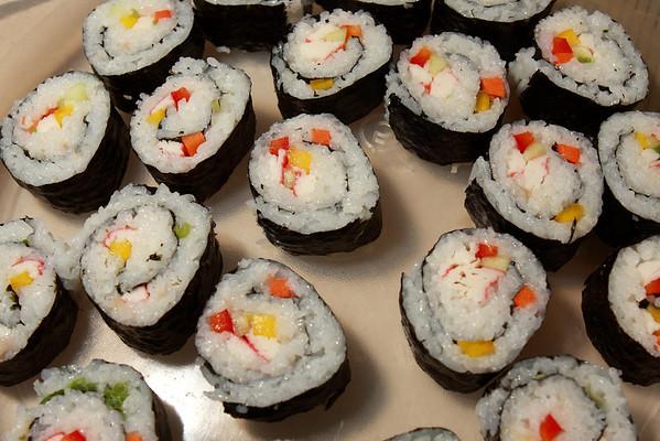 FCRMC Dinner - Sushi