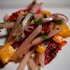 Jicama, Blood Orange & Mango Salad with Red Onion, Jalapeno, Cilantro & Mint