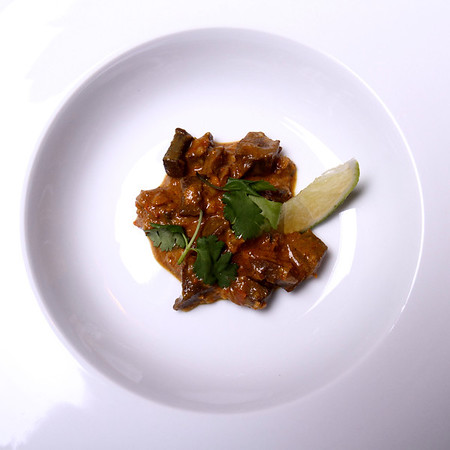 Offal Thanksgiving -- Amuse #2: Tanzanian Style Curried Turkey Gizzards