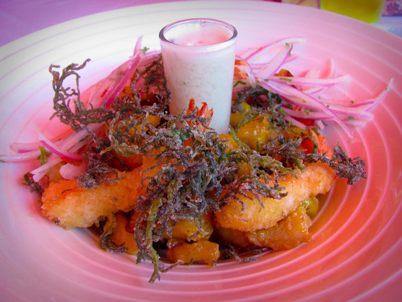 Jalea Glaseada con yuyo crocante, Alfresco, Lima