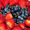 Strawberries & Blue Berries