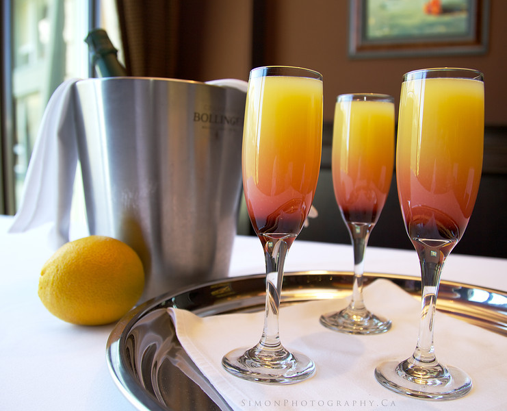 The Pink Buck's Fizz…<br /> <br /> Originally invented at the Buck's Club in London's Mayfair, Creator Mr. McGarry would've frowned on any upstart of adding a dash of grenadine, but the resulting pink glow makes this cocktail the ultimate romantic tipple.