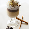 Keep you warm, Steamed milk a shot of espresso, Baileys, Galliano, whip cream and a pinch of cinnamon.