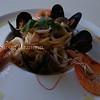 shrimp noodle dinner