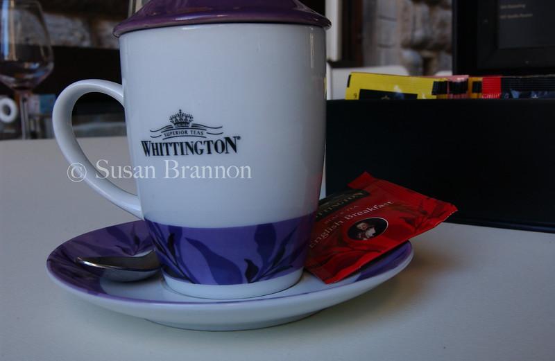 Whittington, the tea of choice!